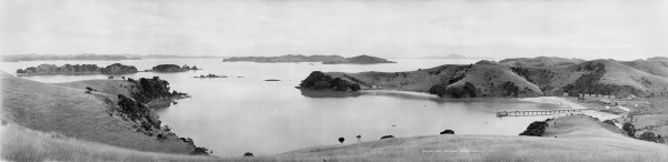 "His first angling base in the Bay of Islands was a tent camp at Otehei Bay, which he called ""Camp of the Larks"". By the following season a permanent fishing lodge, called the Zane Grey Sporting Club, had been built in the bay and a resort still stands on that spot today."