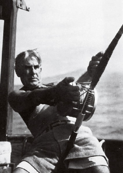 It was a short step from writing purple prose to fishing purple seas for millionaire Western writer Zane Grey. His quest for fighting fish took him from the Florida Keys to the Great Barrier Reef, including four trips to New Zealand.