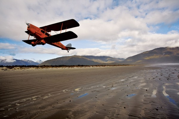 In a landscape dominated by mountains and swamps, beaches at mid-to-low tide were reliable airstrips for pioneer aviators. Bush flying was so tactile and intensely visual that Bert Mercer never learned to navigate by instruments.