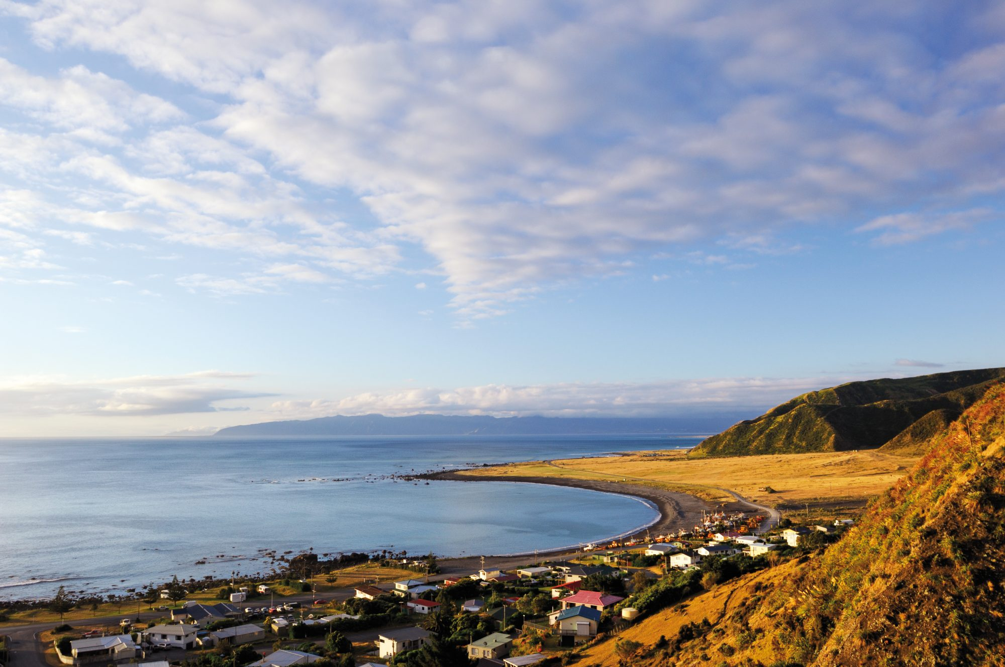 Ngawi is nestled on the foothills of Aorangi Range, where low rainfall and clear skies are compared with Central Otago.