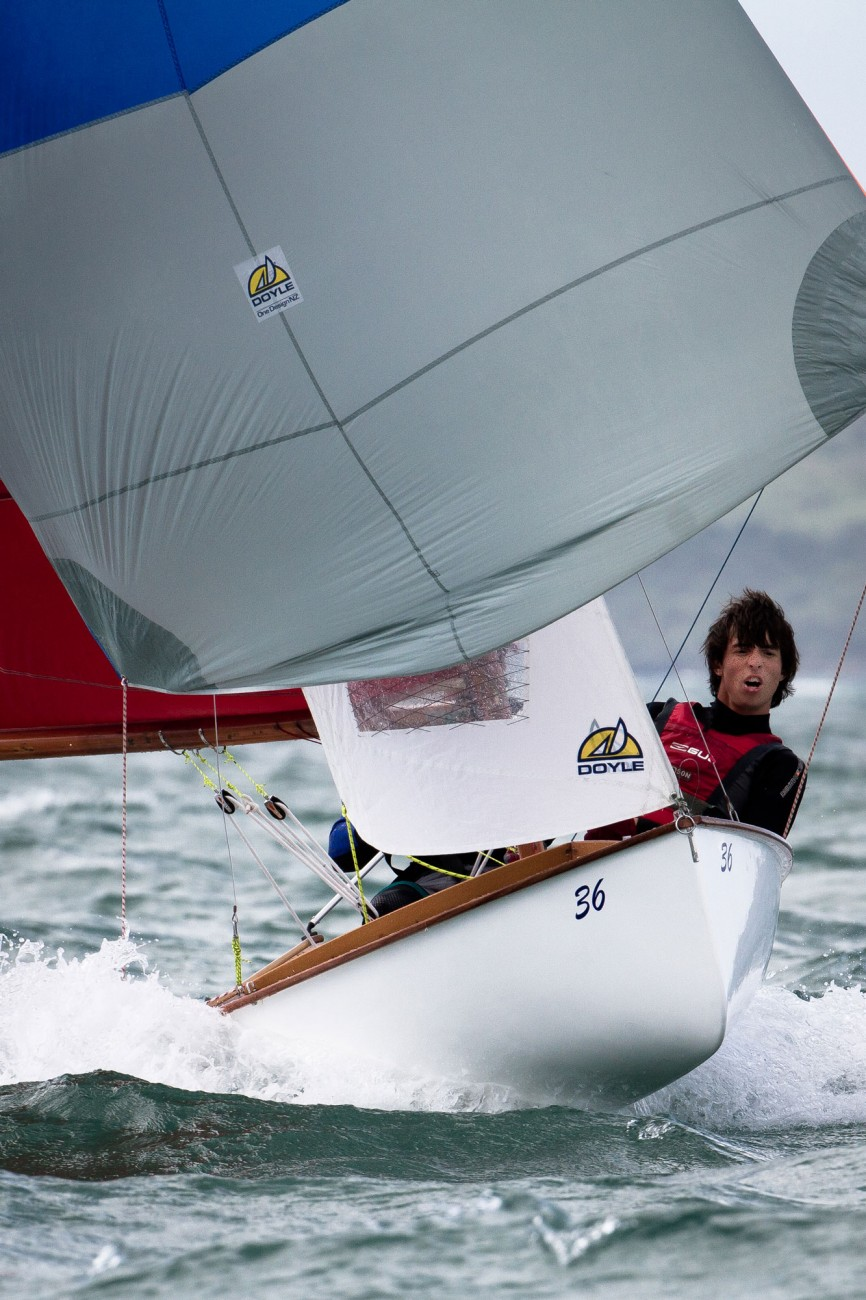 The DNA of fast, light, planing centreboarders goes back a very long way in New Zealand, to the patiki designs of Arch Logan in 1898. The 12-foot Mistral, pictured, was introduced in 1959 as a two-handed racing dinghy of outstanding performance for its time. The designer, Logan disciple Des Townson, died in 2008, a creative Kiwi who was among the best this country has ever produced. All Townson's designs were effective, fast and pleasing to the eye, having a purity of line and shape that renders them instantly recognisable.