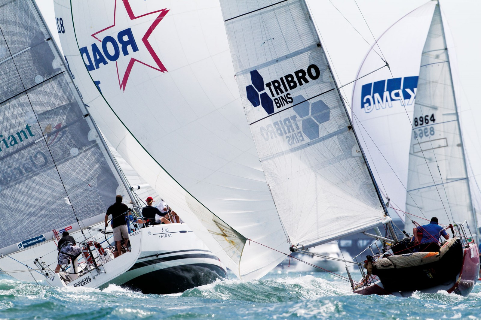 Auckland's modern racing fleet is highly competitive. With several long-established yacht clubs on the Waitemata Harbour catering for keel yachts and centreboarders, there is racing almost every night of the week, and during weekends. As it has been for over a century, the Waitemata is the spawning ground for the Kiwi yachtsmen and yachtswomen now coveted by international syndicates from as far afield as the Swiss Alinghi team, the U.S. Oracle team and Italy's Luna Rossa campaigns. The next America's Cup race in 2013 will be in catamarans, which achieve speeds never before seen under sail. In 2012, high-tech catamarans are experimenting in the fresh air of the Waitemata and the practice will become increasingly frenetic as the fiercely competitive challenger series looms.