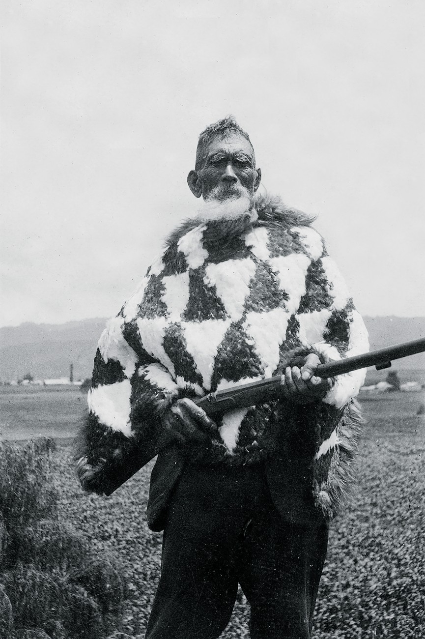 For 150 years, Tuhoe have clashed politically—and sometimes militarily—with the Pakeha Crown over loss of land and loss of autonomy, known as mana motuhake. In the late 1800s, a group of Tuhoe chiefs known as 'The Seventy'—including Waimana chief Te Whiu Maraki, pictured—persuaded Richard Seddon's government to pass legislation granting Tuhoe limited autonomy and an inviolable native reserve. Both commitments were breached, leaving a legacy of bitterness and betrayal. Resolution is finally at hand. In 2012, the government offered Tuhoe a settlement that includes return of Te Urewera and a transition to self-governance.