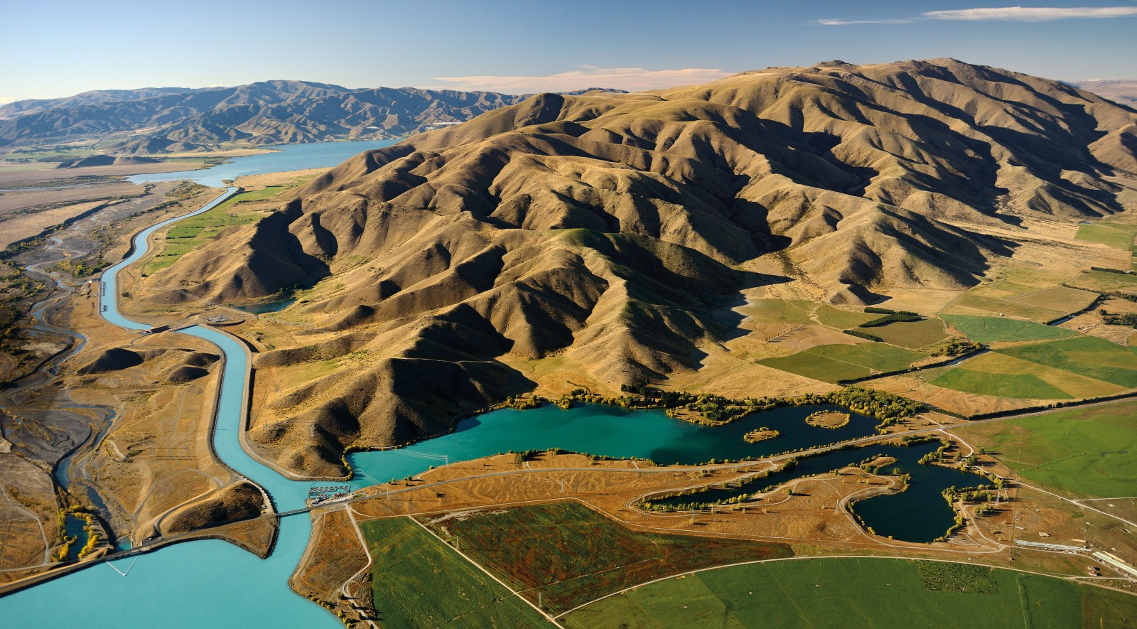 Channelled by big thinking, the glacial waters of Lakes Tekapo, Pukaki and Ohau—holding fully half of all New Zealand's hydro storage—pass through eight dams on their way to the sea. The Waitaki hydro scheme re-engineered entire catchments and floodplains—a high dam raised Lake Pukaki by 37 metres. But the days of such nature-taming projects may be over: In 1970, 264,907 New Zealanders, almost 10 per cent of the population, signed a petition blocking a proposal to dam Lake Manapouri. Last year, generator Meridian announced it was mothballing a proposed (and hotly opposed) $1.6 billion scheme on the Lower Waitaki, citing falling electricity demand.