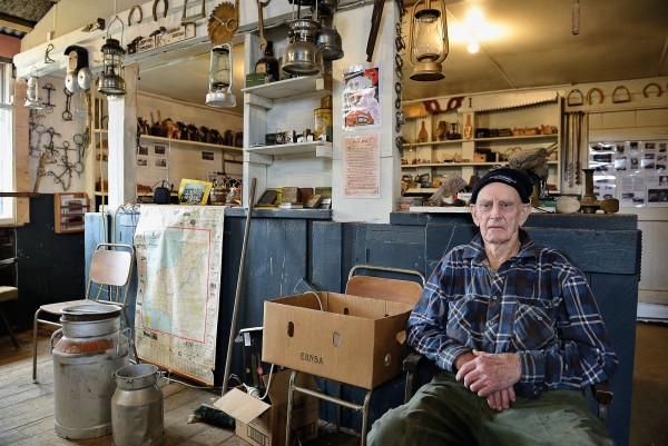 "Murray McCartie has seen many changes in the 86 years he has been living in Tahora. After giving up farming the rugged hills, he converted his woolshed into a museum. ""We stored away bits and pieces for decades. I knew that one day they would come in handy."""