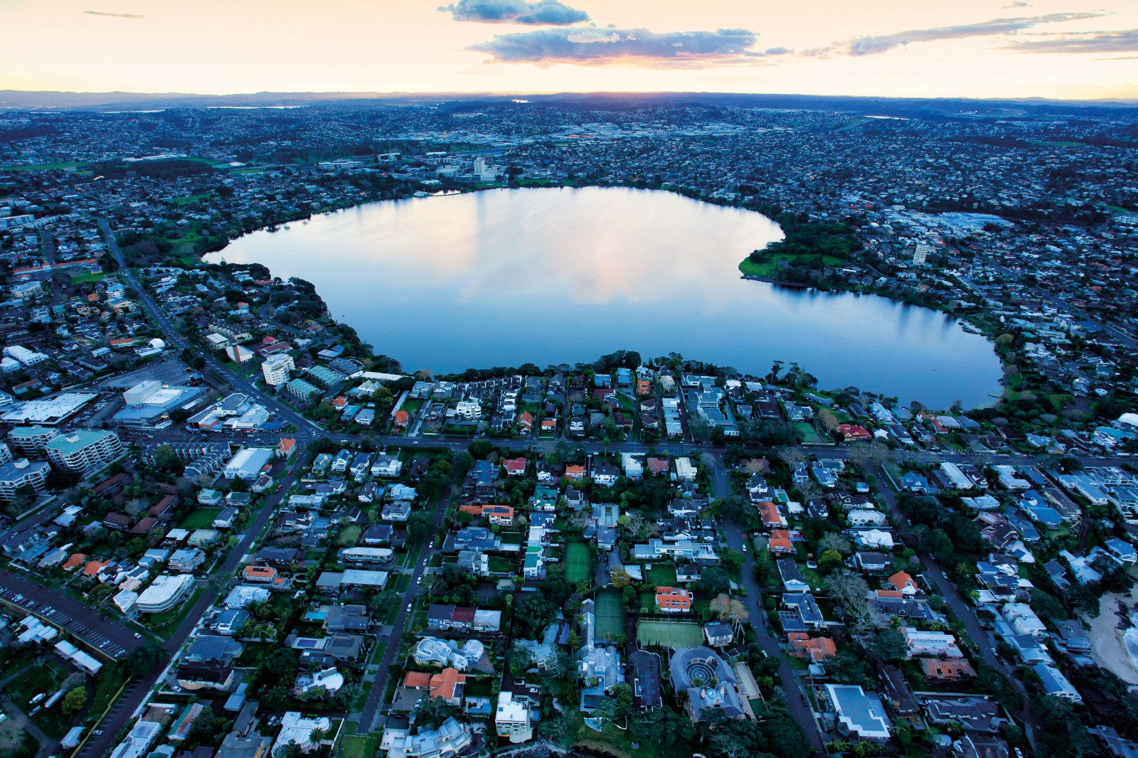 Lake Pupuke's placid waters hide 200,000-year-old craters. Pupuke's two adjacent phreatomagmatic eruptions blew out a square kilometre of country rock, and its lava flooded what's now the Takapuna foreshore. It remained the largest eruption in the field for 200,000 years, until One Tree Hill ejected five times as much material.