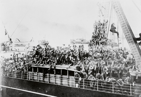 New Zealand sent 10 contingents to fight in South Africa. The first, which left from Wellington on Waiwera only nine days into the war, was despatched in such haste the men had only a few weeks' training. Although huge, cheering crowds gathered to farewell the troops, not everyone approved of the country's involvement.