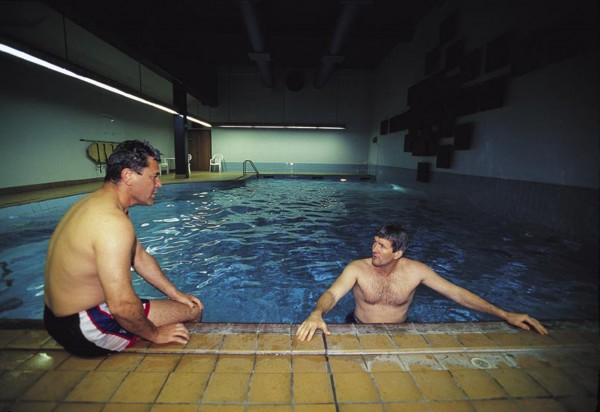 Whereas members once puffed on cigars and sipped whisky in Parliament's Grand Hall, some now swim lengths in the pool or work out in the Beehive gym. Others prefer to escape, if not from the shadow of Parliament, at least from the premises.