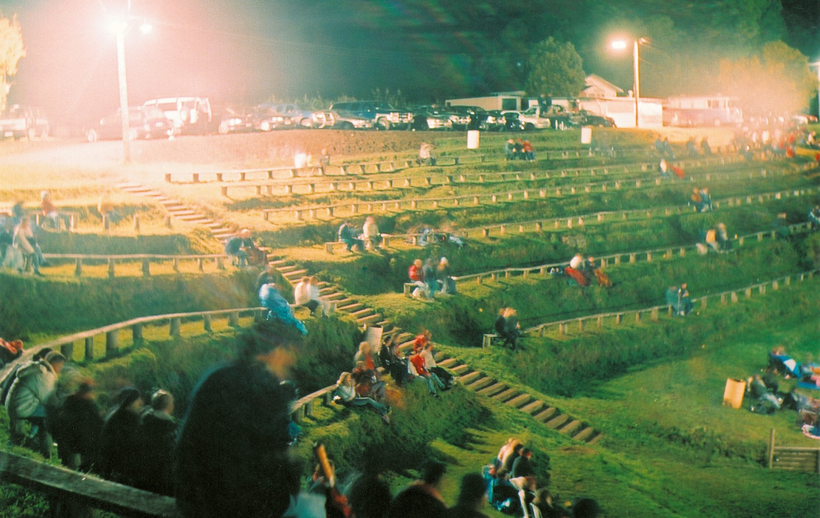 Wrapping up against the chill for a few hours of watching cars racing around a dirt track may not be everybody's idea of a great night out, but spectator numbers at Speedway New Zealand's 23 venues, including Paradise Valley Raceway, in Rotorua, are substantial: between 500,000 and 700,000 a year.