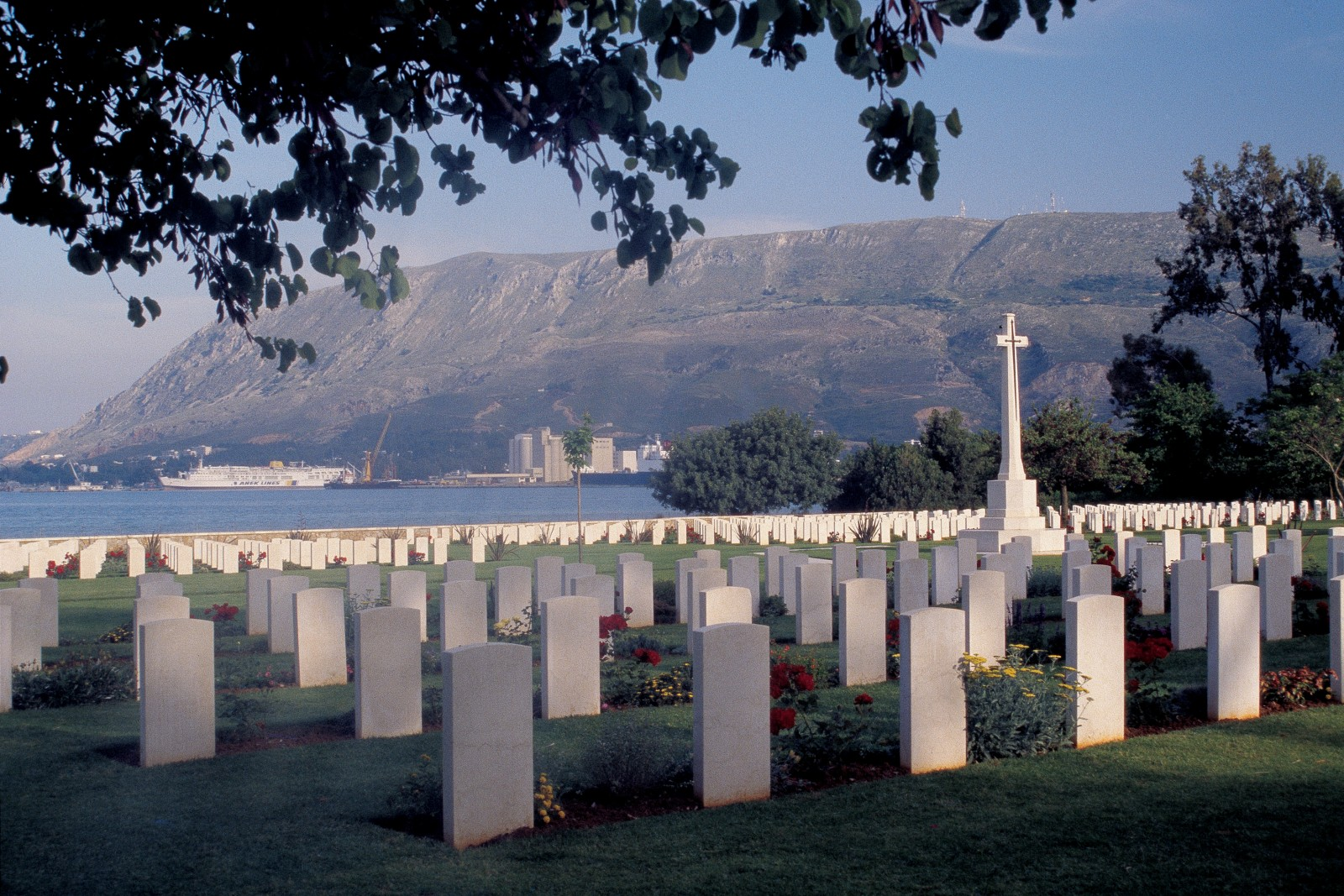 Many New Zealanders who died on Crete are remembered at the Commonwealth war cemetery overlooking Souda Bay, where their travails on the island began.