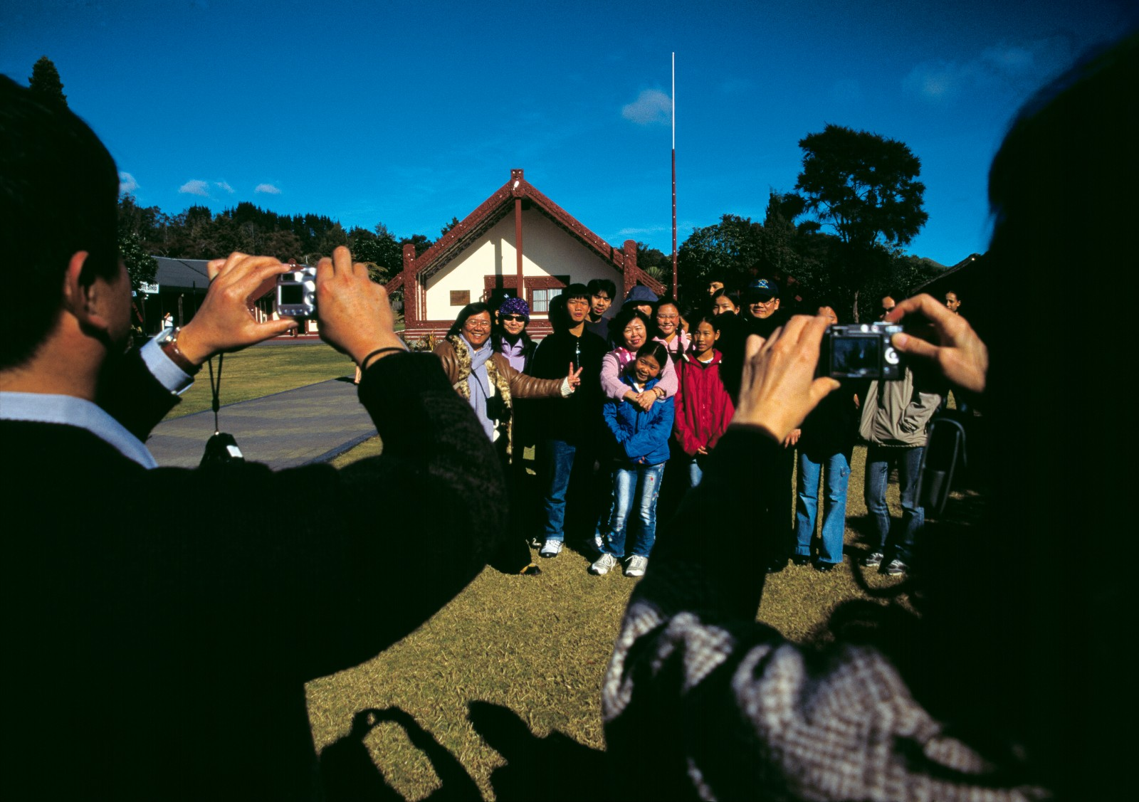 "Of the myriad international tourists who experience Maori tourism, 59 per cent rate cultural performances of the sort this group has just experienced at Rotowhio Marae as ""very satisfactory"" or ""superb""."