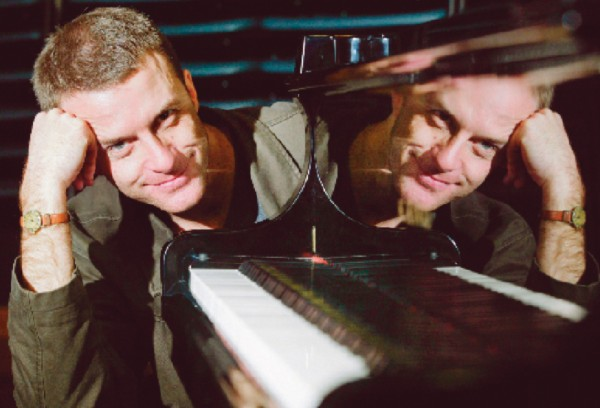 Dan Poynton (top) finds the perfect partner in piano, and Mark Menzies (bottom) is a study in concentration as he learns Lautari, a gypsy influenced violin piece by Helen Bowater.