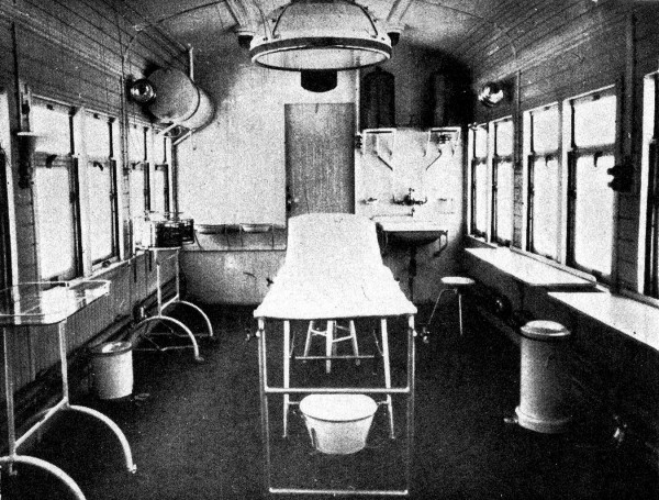 When bombing destroyed theatres in tents, they were improvised in railway carriages placed in disused tunnels. Jolly's book on treating war injuries became a classic.