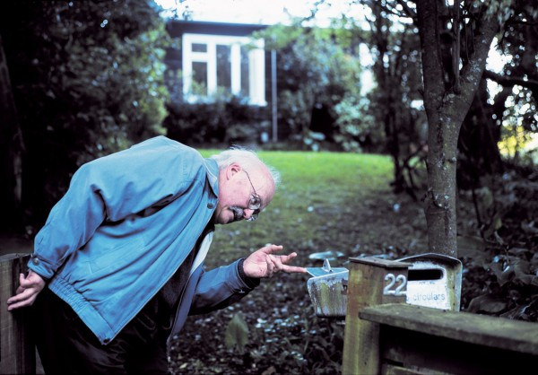 """""""Nothing for me, but three letters for Douglas!"""" Lyell Cresswell investigates the letterbox at Lilburn's former residence, home to the composer and his wife Catherine during his stint as 2006–07 Creative NZ-NZ School of Music Composer in Residence. Of his graphic scores, composed for Jack Body's 50th birthday, he says: """"There is no artistic, communicative, logical, coherent, meaningful, cogent, enchanting, devotional, seditious, wholesome, misanthropic, didactic, perverse, perverted, succulent, organic or, indeed, carnivorous basis, or reason for their existence""""."""