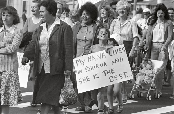 "Forty years later, the image of public housing had changed substantially, and not for the better. Upset with negative publicity about Porirua, residents staged a ""Porirua and Proud of it"" march in 1981."