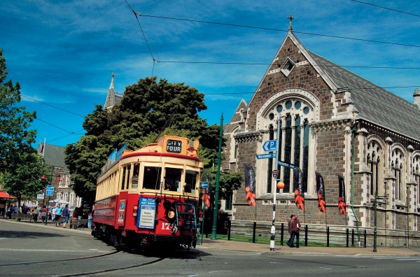 Trammies give commentaries on such local sights, and since Julia Wareham hails from Canada, she brings a delightful and unusual, lilt to the trams.