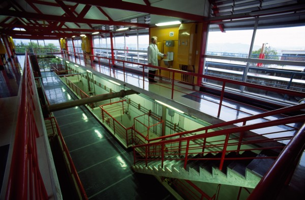 Ardmore Filter Station Operates 365 Days A Year And Processes On Average 240 Million Litres Of Water Per Day The Whole Is Monitored By Computer