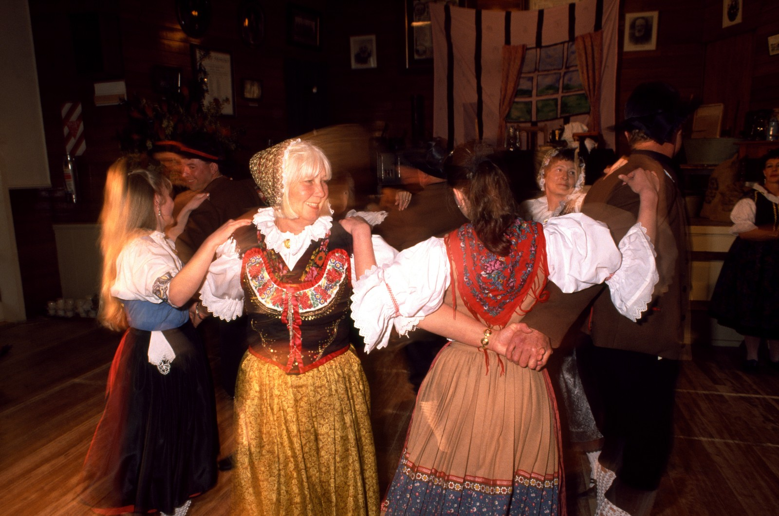 In the early years of unending backbreaking land clearance, dances were one of the Bohemians' few escapes, and they sometimes lasted for days on end. The rhythms of the polka and schottische can still be heard in Puhoi, especially during the annual celebration of the arrival of the pioneers, when dancers dress in the regional costumes of their ancestors and kick up their heels in the local hall.