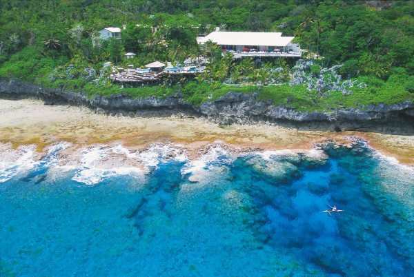 Matavai Resort, built on the edge of the cliffs south of Alofi, was partly funded by the Niue government to boost tourism to the islands. Premier Frank Lui believes visitor numbers could reach 20,000 per year, from the present figure of 2000.