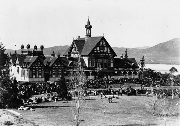 Rotorua's half-timbered bathhouse, which opened on August 13, 1908, was seen as an antipodean rival to the great European spas, but within years the sulphurous atmosphere of Rotorua had corroded the building, and with it the dream.