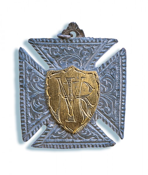 """The lure of Pegasus gold and Pegasus tin, shaped here into a Maltese cross, drew hundreds of men to New Zealand's """"third island"""" during the late 1880s."""