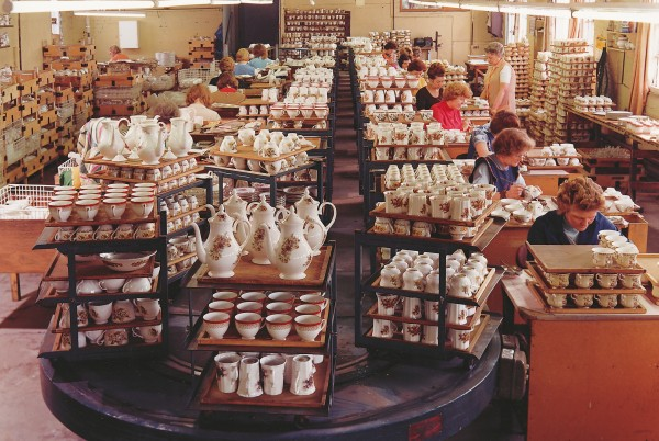 A milestone acquisition in 1971 was a stake in the Royal Grafton bone china plant at Stoke-on-Trent.