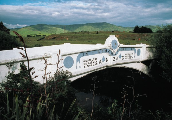 At Kaiporoporo in Wairarapa, the dead were commemorated by a bridge.