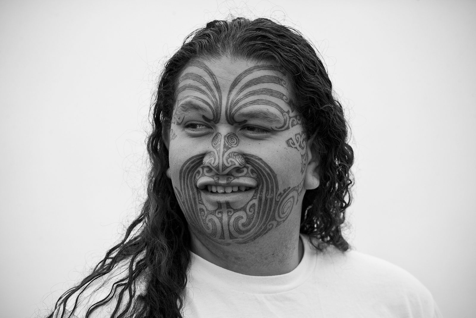 "Like his brother Robert Hohepa Hei has also struggled with the public perception of his moko; ""The days that I dress quite scruffily a lot of people won't approach me, but when I dress more formally people don't feel intimidated. They approach me and ask me questions about it. To be honest I don't blame some for their perceptions of people with moko. I could be walking down the street, and you see an elderly pakeha couple walking towards you and they take three steps to the left to avoid you; and you're walking on one side of the footpath and they're walking on the other side. I always say, 'Good morning'. And they sort of get startled by it and go, 'Oh. Good morning.'"""