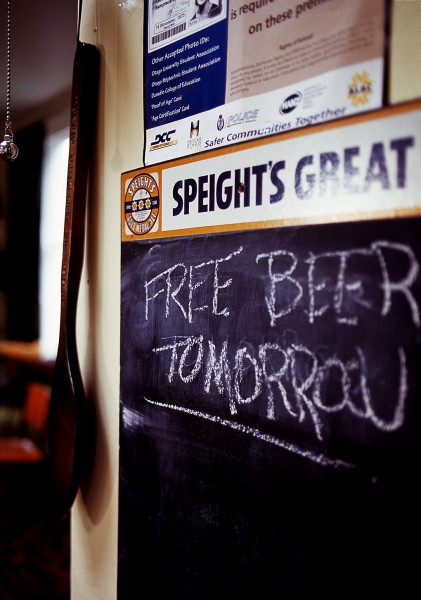 Their colleagues at the Otago Bowling Club, however, will be drinking for free.