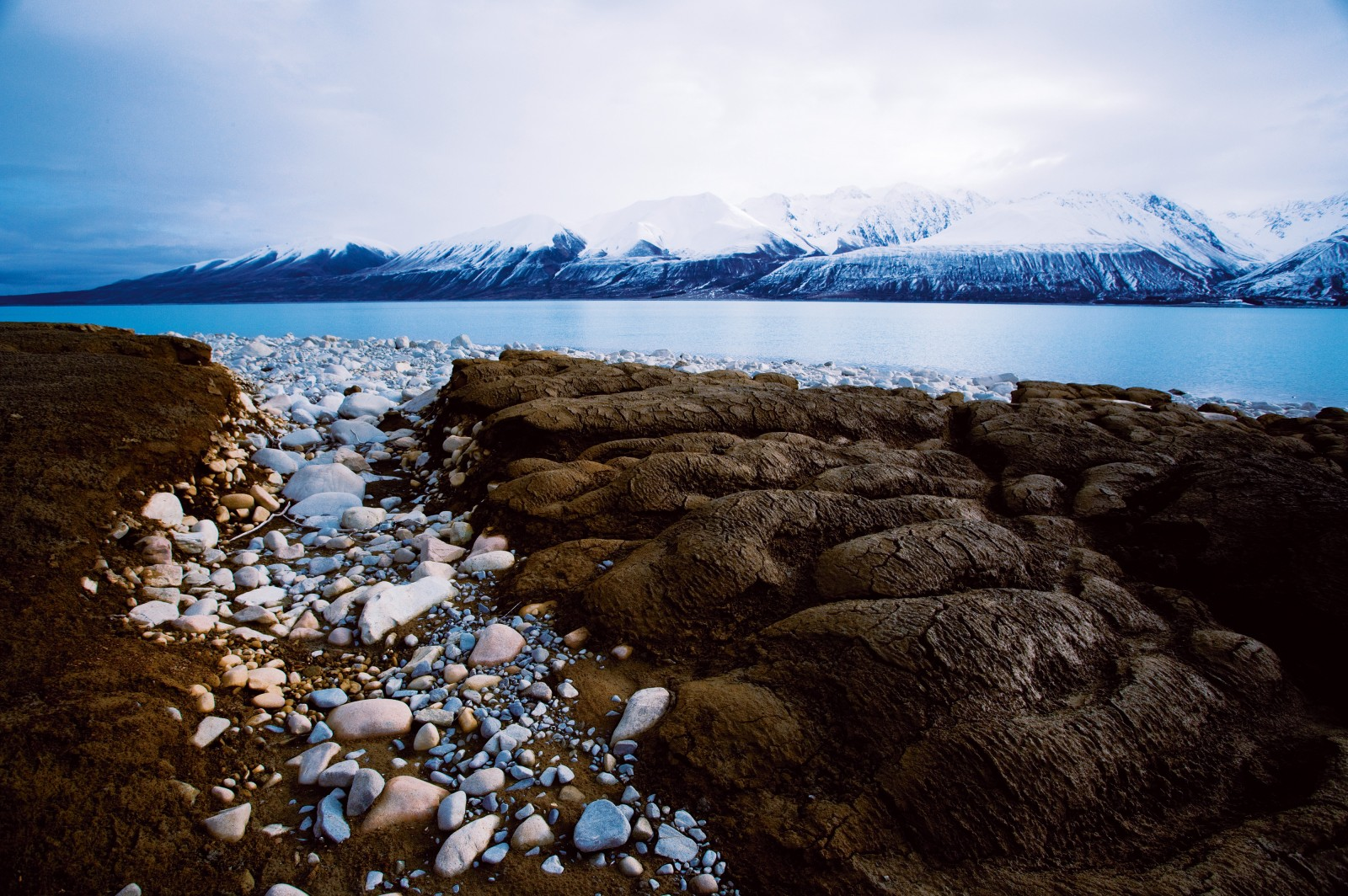 Between 1976 and 1979 the depth of Lake Pukaki was increased by 37 m—adding to a 9 m rise in the 1940s—to optimise its capacity for electricity generation. Environmental threats, such as shoreline erosion, were introduced by this construction and modified flow conditions have also affected river ecosystems in the area.
