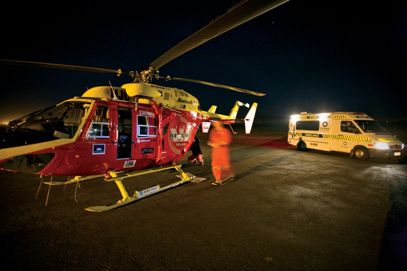 An integral part of the emergency response in Christchurch is the Westpac Rescue Helicopter and St Johns Ambulance working in tandem. Their efforts are coordinated at the 111 centre in Christchurch, where all ambulance dispatches across the South Island are made.