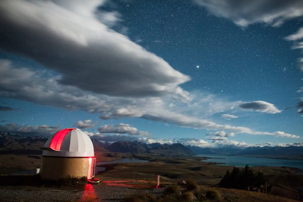 Despite its remote location, Mount John is arguably the centre of New Zealand astronomy. It houses our largest telescope and is the focus of a major international collaboration with Nagoya University in Japan for astronomy's greatest prize: to find Earth-sized planets outside our solar system that may harbour life.