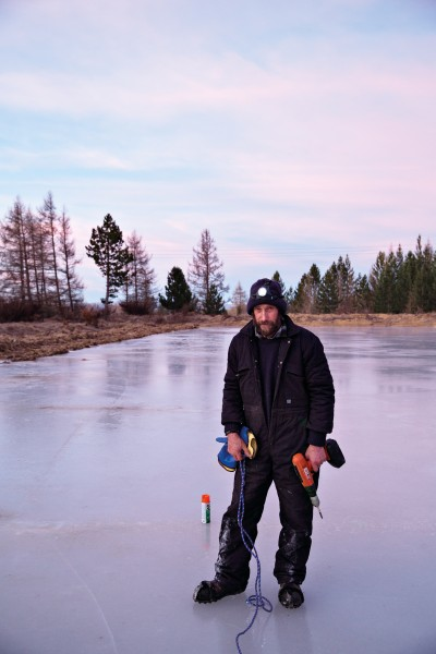 Without Naseby ice master Jock Scott, it's likely that the 2015 winter would have passed without bonspiel.