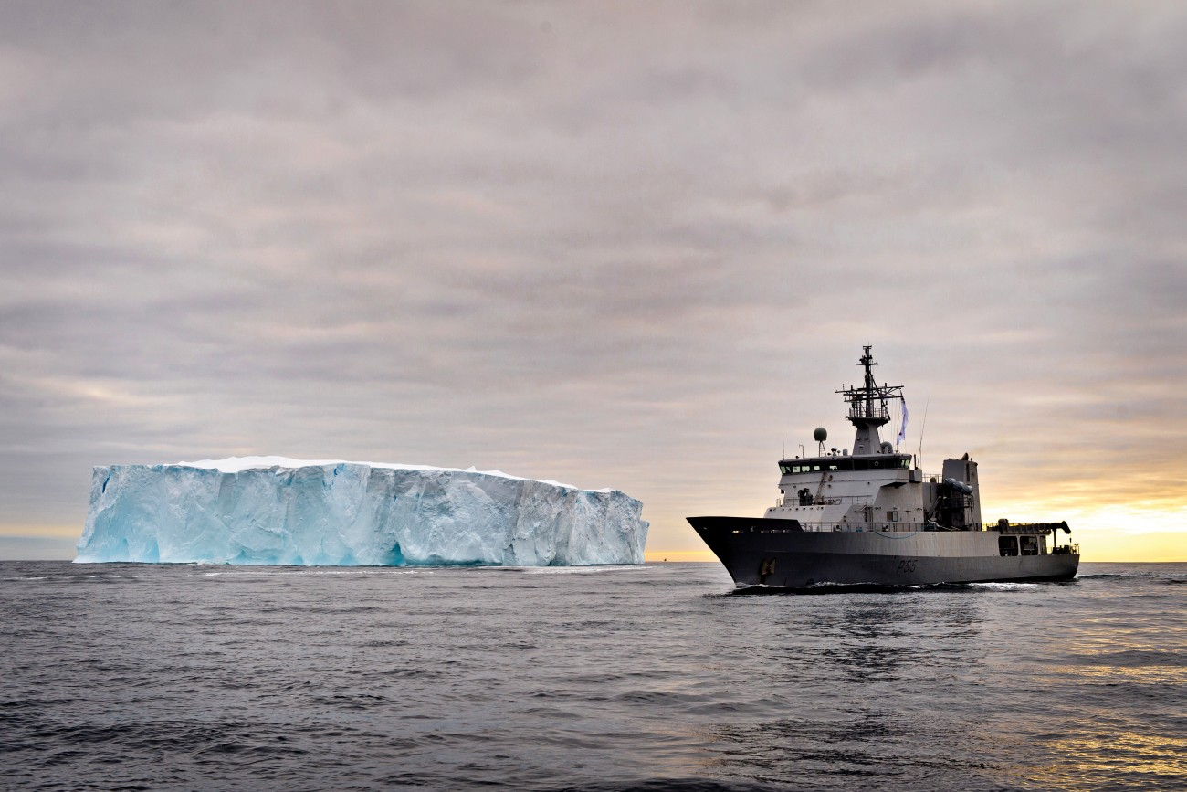 The HMNZS Wellington heads for pirate-infested waters off Antarctica with instructions to document the poachers' activities, not arrest them. The 85-metre- Protector-class offshore patrol vessel was previously deployed in the Ross Sea, ensuring the legal toothfish fleet followed strict rules