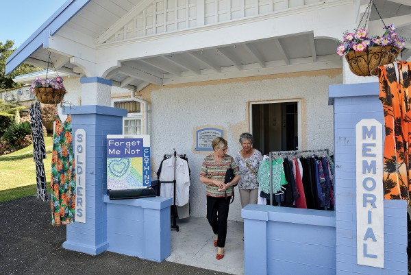 Across the harbour, a secondhand clothing store in the county's main centre of Kaeo is getting a fresh coat of paint—part of an effort to spruce up the town as it seeks to recover from recent floods and economic hard times.
