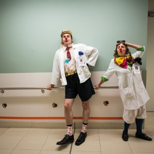Medical Clowning is becoming an important tool in paediatric care, with programmes now in place in Auckland, Christchurch and Wellington. Founded in 2009, Clown Doctors New Zealand sends trained performers into hospitals: actors, drama teachers and musicians skilled in the art of bringing joy to clinical settings. Relating to sick children and vulnerable families is a serious business. Clown doctors can even earn a university degree in their profession through the Berlin-based International Institute for Medical Clowning.