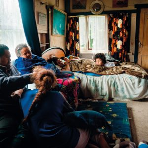 """During the early hours of April 4, 2014, the Armed Offenders squad raided Waitangi Teepu's home. Teepu's parents had been mistakenly identified as criminals after the police followed the wrong car from Whakatane to Ruatoki. Nearly a century old, Teepu's rickety homestead has sheltered more than six generations of whānau and hundreds of tamariki. """"It has withstood all forms of storms, both physical and spiritual, and will continue to act as a repository for thousands of taonga, memories and stories,"""" writes Teepu. These photographs were made by Teepu's adopted sister, Tatsiana Chypsanava, two weeks after the event."""