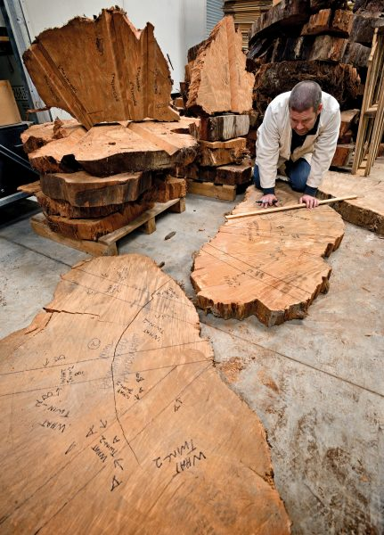 "NIWA climate scientist Andrew Lorrey is assembling a library of sub-fossil kauri in the institute's Auckland warehouse. Each slice or 'biscuit' comes from a different tree, and its rings reveal information about the fluctuations in New Zealand's climate over the hundreds of years that tree grew. ""I want to look back and say I did what I could to try to get this precious natural archive preserved for science."""
