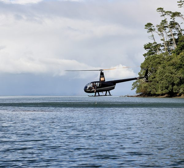 Weekly water sampling by helicopter occurs at Auckland beaches over summer, with the results posted on Auckland Council's Safeswim website. After heavy rainfall, all beaches are considered unsafe—streams rise a metre or more, transporting a torrent of contaminants into the tide.